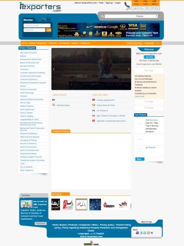 طراحی سایت B2B بین المللی
